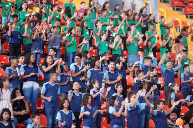 5430 formaturadosalunosproerd fotomarcosantos 3 - Proerd realiza formatura de 1443 alunos de escolas públicas e privadas