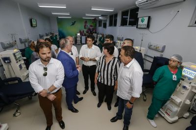 5699 f3647afb 2e6f db8f 841b 0c240b86af80 - Governo inaugura Setor de Hemodiálise e amplia atendimento no Hospital Regional em Marabá
