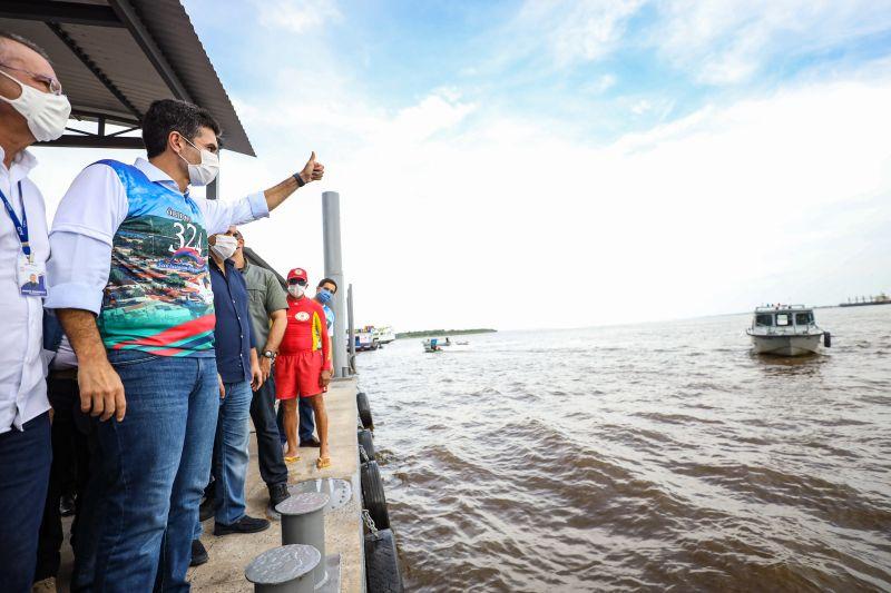 Às margens do Rio Amazonas, o novo Terminal Hidroviário integra Óbidos a vários municípios do Pará e do vizinho Estado do Amazonas