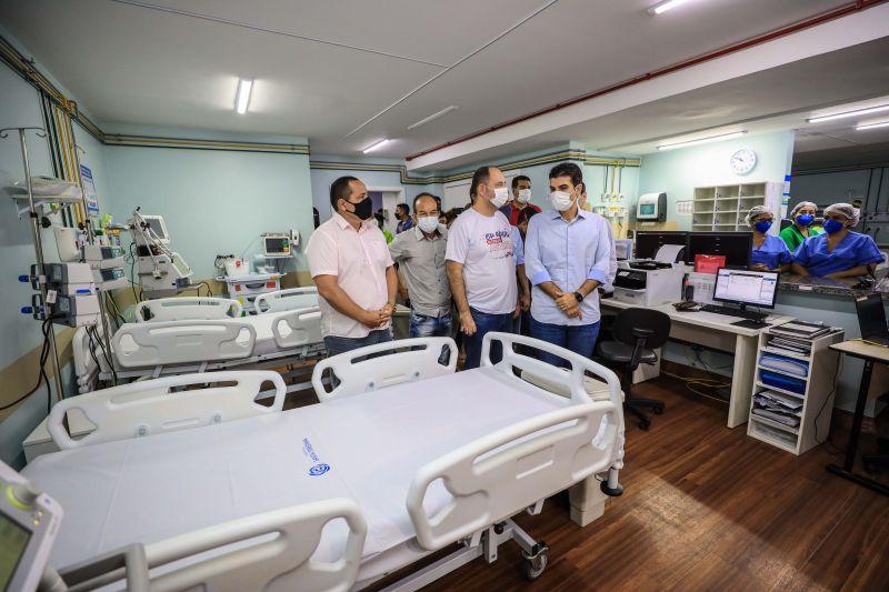 Governador Helder Barbalho e gestores de saúde estiveram no Centro Especializado, em Belém