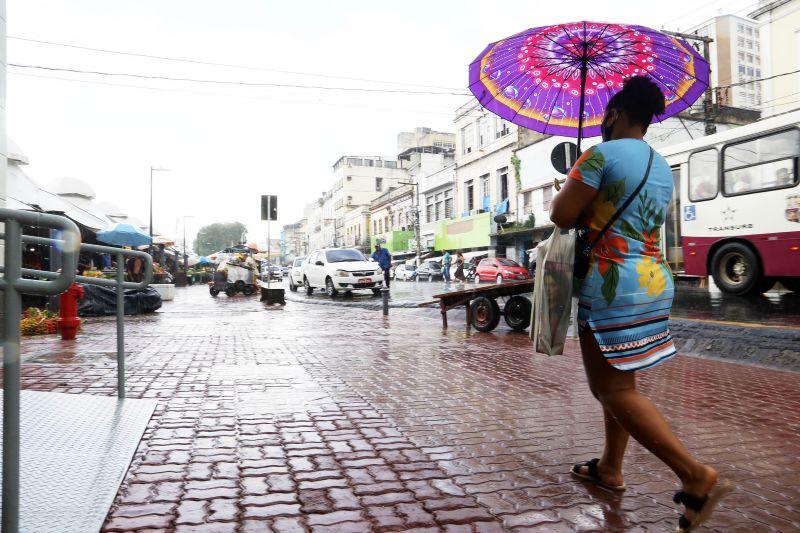 Belém fica com céu nublado no final de semana e terá chuvas mais intensas no domingo