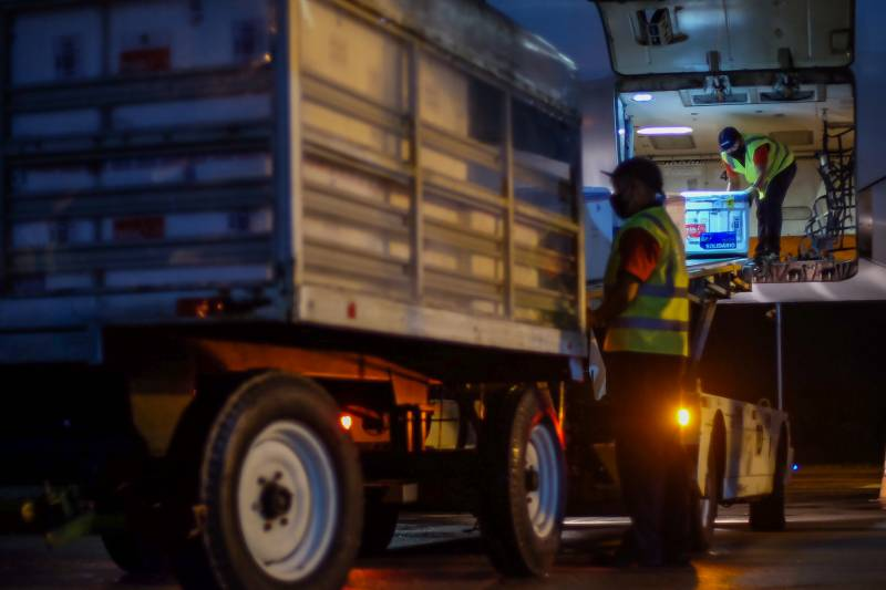 Pará recebe mais de 23 mil doses de vacina contra Covid-19