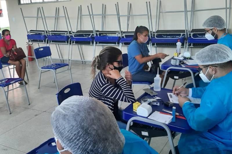 Em Rio Maria, município do sudeste paraense, foram realizados 92 atendimentos nesta quarta-feira (7)