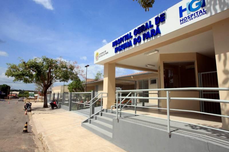 O Hospital Geral de Ipixuna do Pará integra a rede de saúde pública mantida pelo Estado