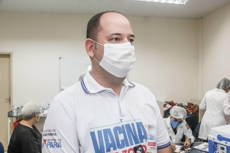 Titular da Sespa, Rômulo Rodovalho observa que a Seplad, Segup e a Uepa somam esforços para agilizar a vacinação em Belém