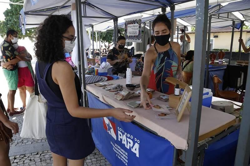 A programação movimentou a feirinha e os museus do Complexo Feliz Lusitânia, na Cidade Velha
