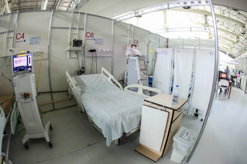Hoje, leitos vazios significavam a eficiência do combate à pandemia de Covid-19 no Pará