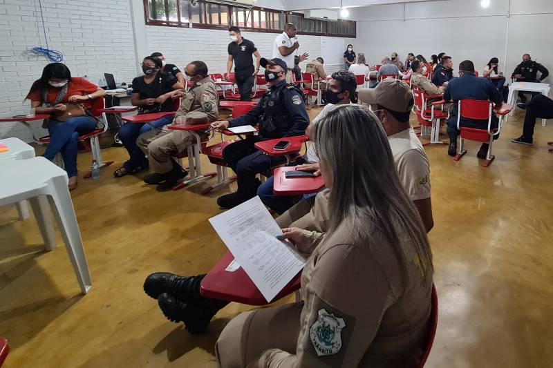 Os participantes da oficina vão definir a atuação de cada órgão do sistema de segurança na UsiPaz
