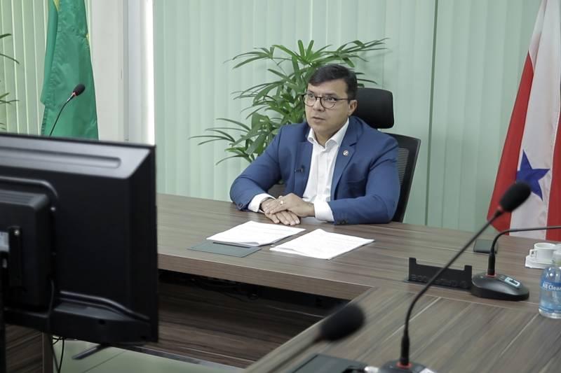O secretário Mauro O'de Almeida destacou as estratégias adotadas pelo Governo do Pará