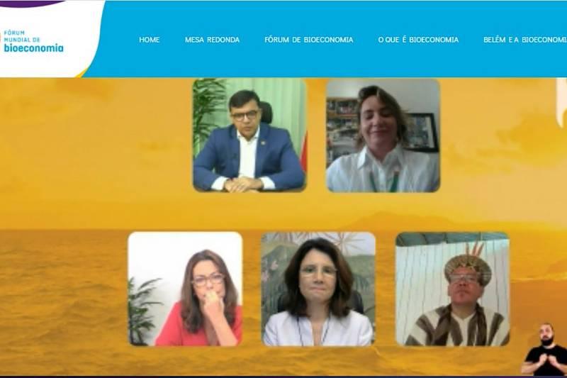 O evento reuniu especialistas em Amazônia para debater os rumos da bioeconomia na região