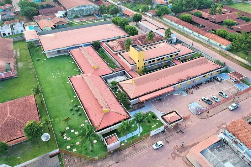 Hospital Geral de Tailândia, que sediará o projeto da Nestlé Health Science