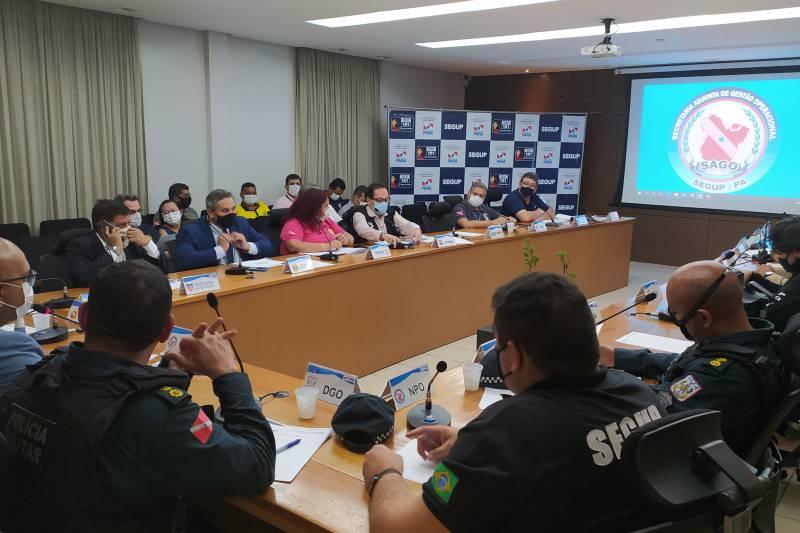 A presença do público no estádio foi aprovada por representantes das áreas de saúde e segurança do Estado e da Prefeitura de Belém, Ministério Público, FPF e Clube do Remo