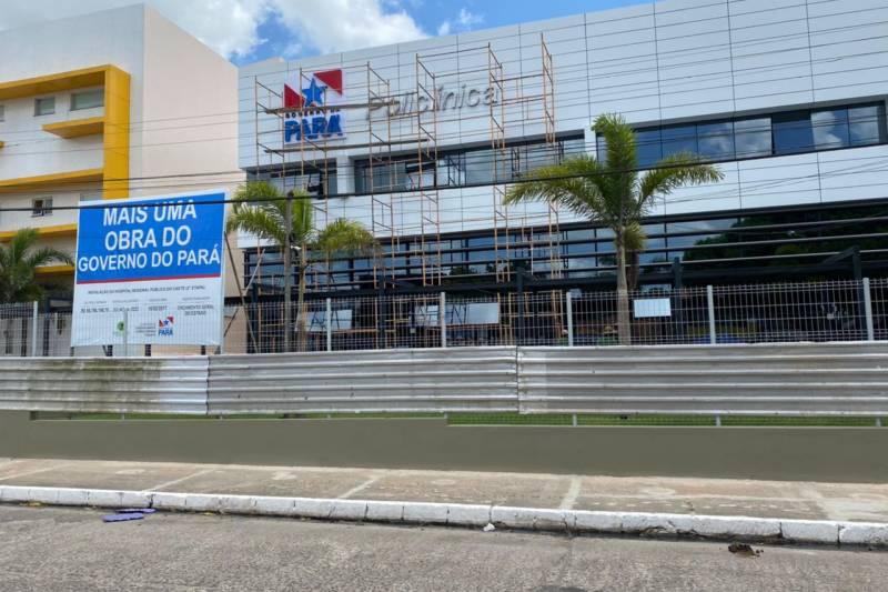 A Policlínica de Capanema deve ser entregue em breve pelo governo do Estado