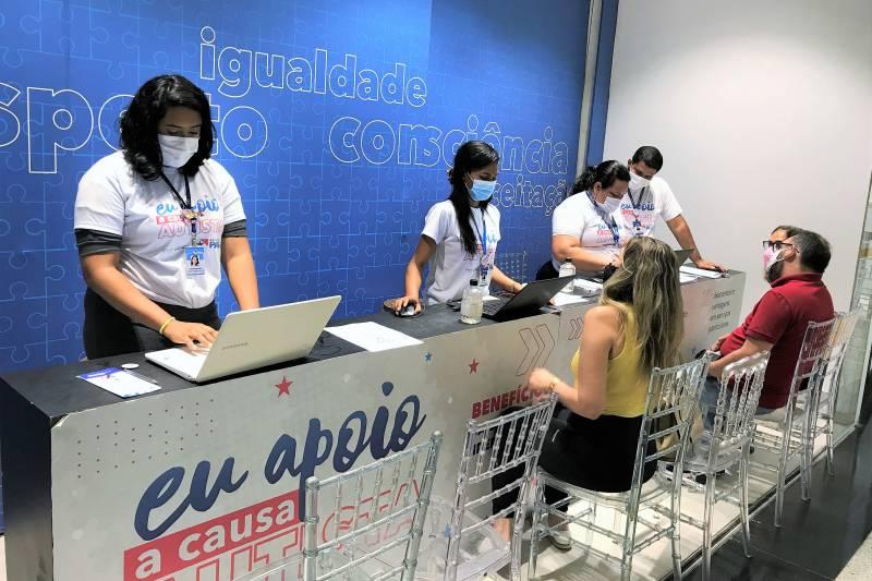 A carteira é uma iniciativa do Governo do Pará, voltada a garantir direitos das pessoas com autismo