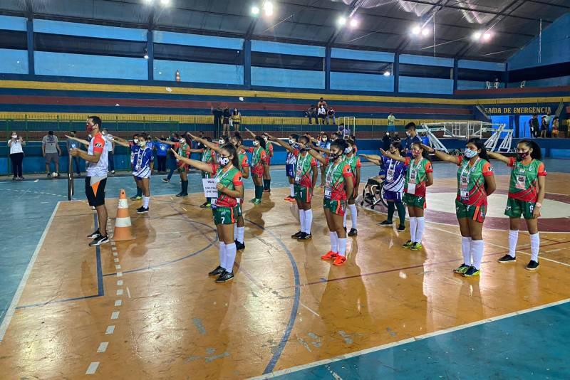 Cerimônia de abertura dos Jogos Estudantis Paraenses