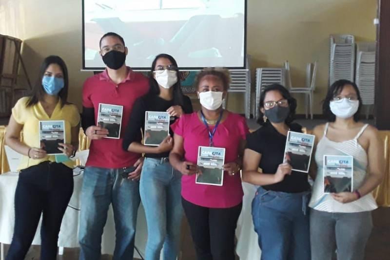Jovens capacitados pelo projeto desenvolvido de forma itinerante pela Fundação ParáPaz