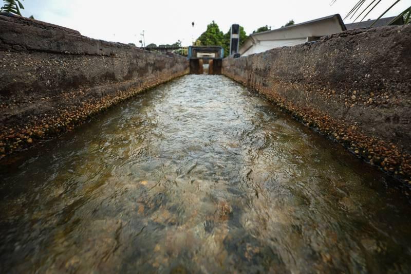 Com o novo sistema de abastecimento a Cosanpa atende moradores que antes dependiam de apenas um poço para ter água