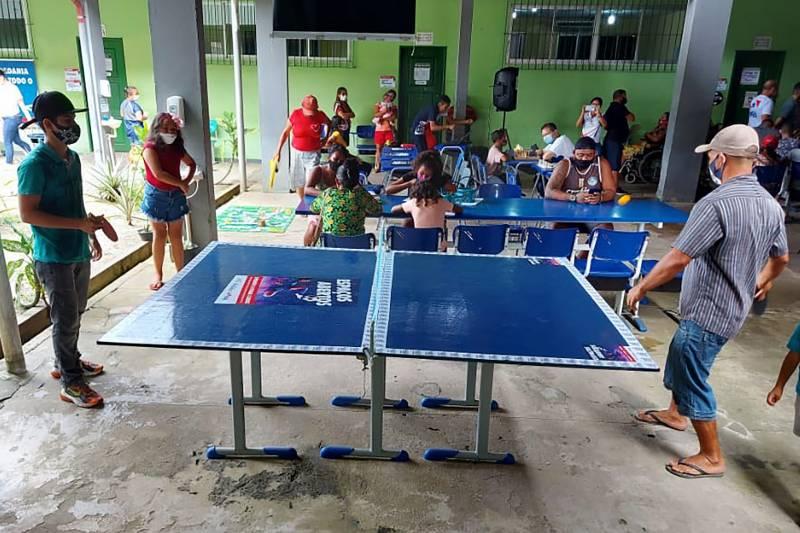 Além dos serviços, houve atividades de lazer e entretenimento na ação da Fundação ParáPaz
