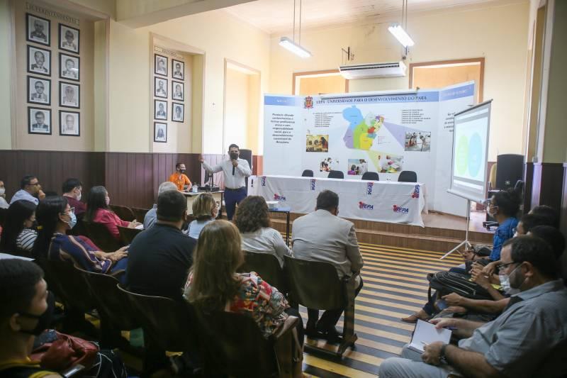 A apresentação do programa ocorreu no Auditório da Reitoria da Uepa