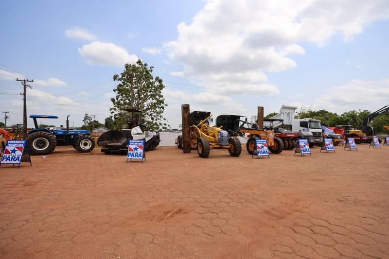 Máquinas já estão no município para iniciar as obras no trecho da PA-150 entre Jacundá e Goianésia do Pará