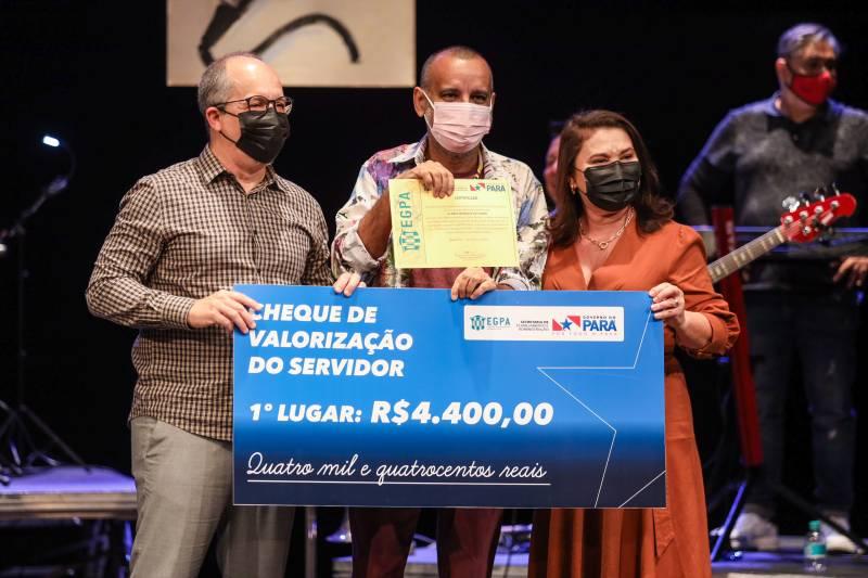 O 'Canta Servidor' é promovido pela EGPA em parceria com a Funtelpa e Fundação Cultural