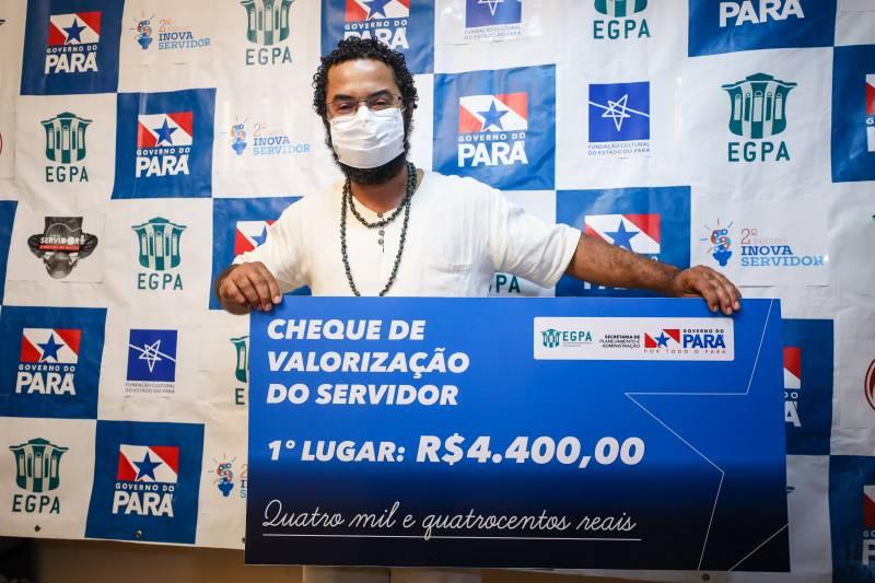A premiação valoriza o talento de servidores de todas as regiões do Pará