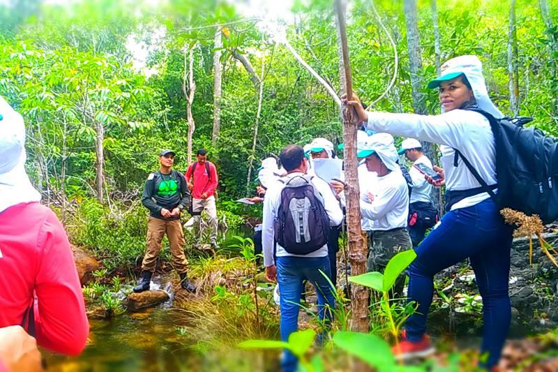 As aulas práticas incluem atendimento pré-hospitalar, informações arqueológicas e visitas aos principais pontos turísticos
