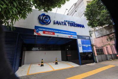 O Centro funciona no Hospital Santa Teresinha