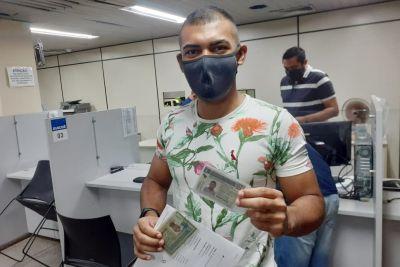 Usuário conseguiu a documentação com tranquilidade na sede do Detran