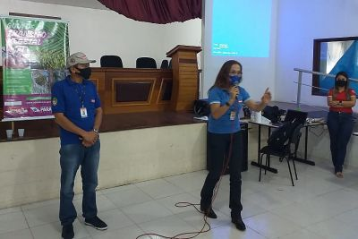 Lucionila Pimentel, diretora de Defesa e Inspeção Vegetal, destacou as vantagens da GTV