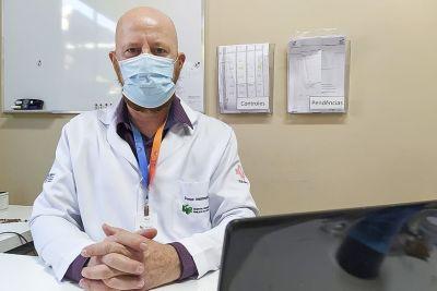 Clóvis Guse, diretor Assistencial do Hospital Regional do Leste