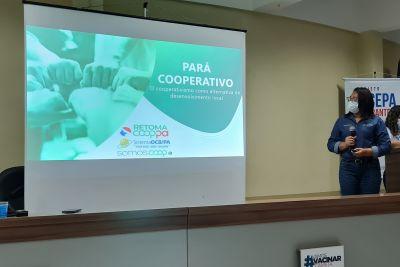 Palestra sobre Cooperativismo como Alternativa de Desenvolvimento Local
