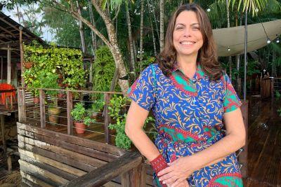 Camille Bemerguy, diretora de Bioeconomia, Mudanças Climáticas e Serviços Ambientais da Semas