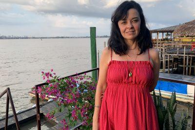 Flávia Lucas, professora de Ciências Biológicas da Uepa
