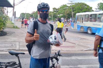 Erisvaldo da Silva quer melhores ciclovias para trafegar