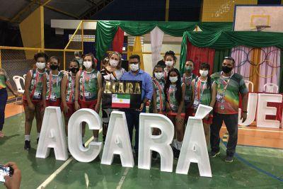 Atletas do Acará que participam da competição