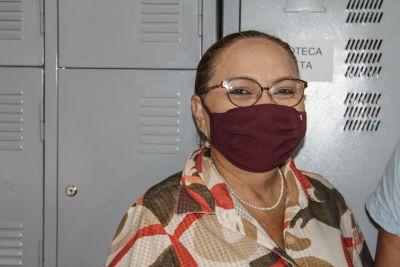 Coordenadora do Nedeta, Ana Irene de Oliveira