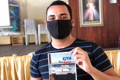 Estudante Pedro Teixeira aprovou o curso de capacitação