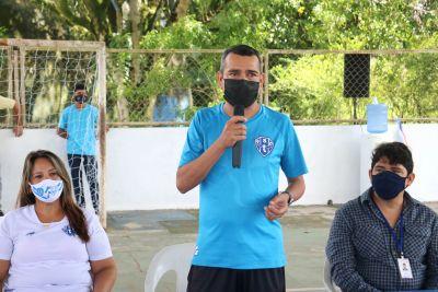 Raimundo Santos, treinador de Futsal do Paysandu